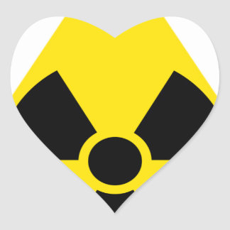 Nuclear Heart Sticker