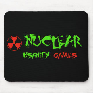 Nuclear Insanity Games Mousepad