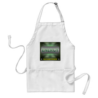 Nuclear Is Clean Energy Adult Apron