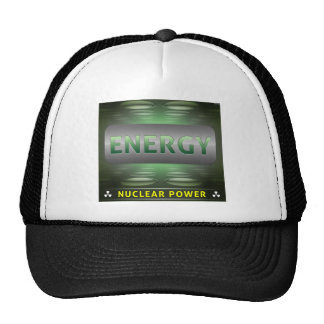 Nuclear Is Clean Energy Mesh Hat