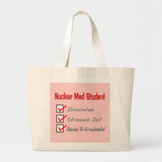 "Nuclear Med Student ""Ready To Graduate!"" Canvas Bags"