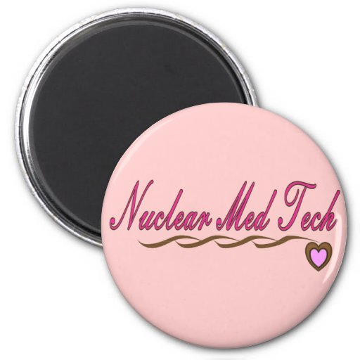 Nuclear Med Tech Gifts Refrigerator Magnets