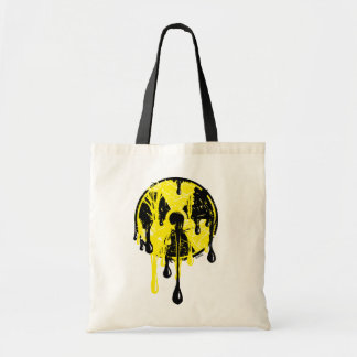 Nuclear meltdown tote bags