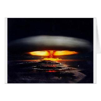 nuclear night shot.jpg greeting card