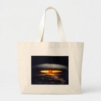 nuclear night shot.jpg jumbo tote bag