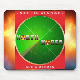 Nuclear North Korea Mousepads