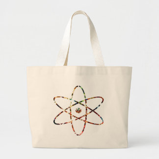 Nuclear Nucleas -  Red Sparkle Design Tote Bags