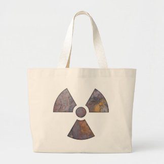 Nuclear - Paint Texture Canvas Bags