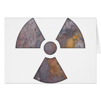 Nuclear - Paint Texture Greeting Card
