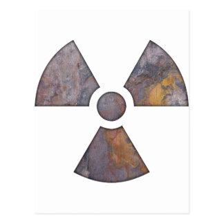 Nuclear - Paint Texture Postcard