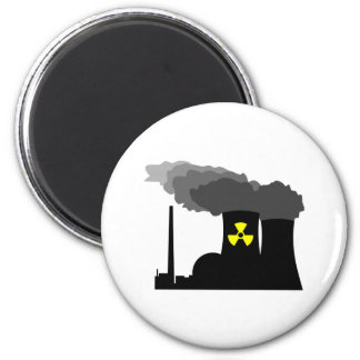 Nuclear Power Refrigerator Magnet