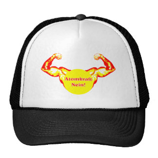 Nuclear power no mesh hat