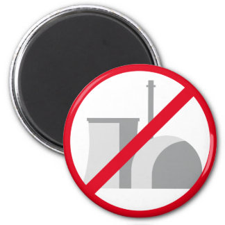 nuclear power - NO thank you Refrigerator Magnet