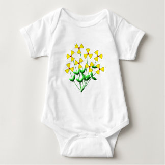 Nuclear power nuclear power flowers plants flowers baby bodysuit