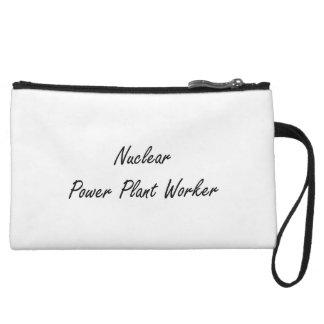 Nuclear Power Plant Worker Artistic Job Design Wristlet