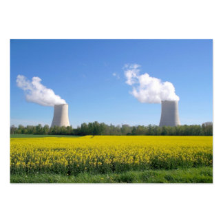 Nuclear power seedling - Nuclear power plant - (Fr Business Cards
