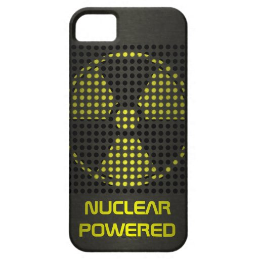 Nuclear Powered iPhone 5 Case