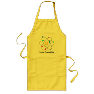 Nuclear Powered Chef Long Apron