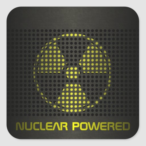Nuclear Powered Stickers