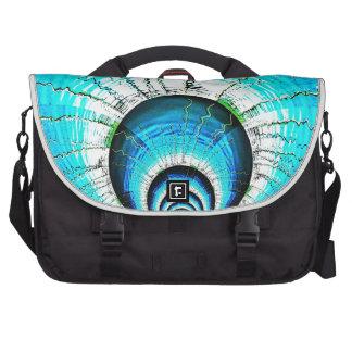 Nuclear reaction laptop messenger bag