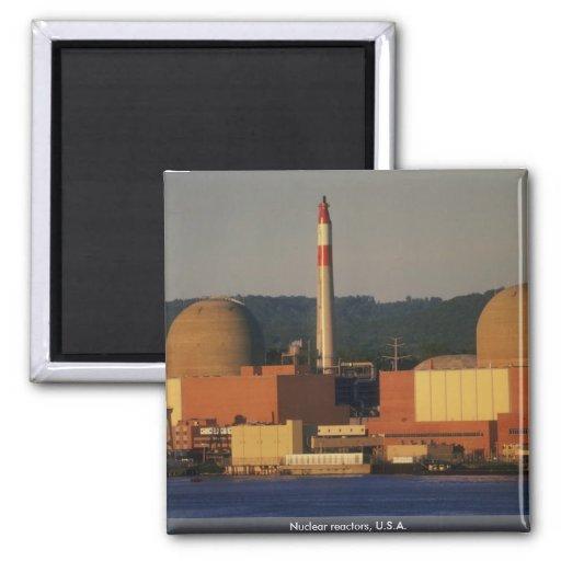 Nuclear reactors, U.S.A. Refrigerator Magnets