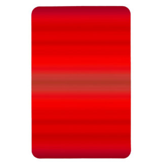 Nuclear Red Gradient - Poppy Reds Template Blank Rectangular Photo Magnet