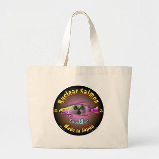 Nuclear Salmon Canvas Bag