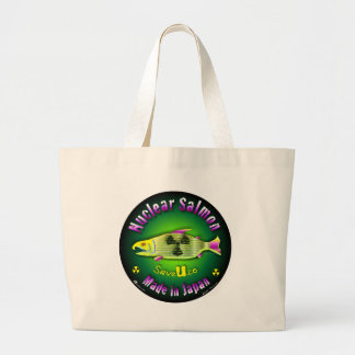 Nuclear Salmon Tote Bag