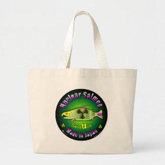 Nuclear Salmon Tote Bag