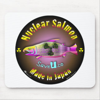Nuclear Salmon Mouse Pad