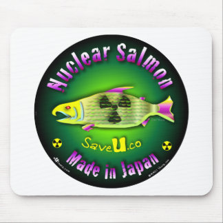 Nuclear Salmon Mouse Pads