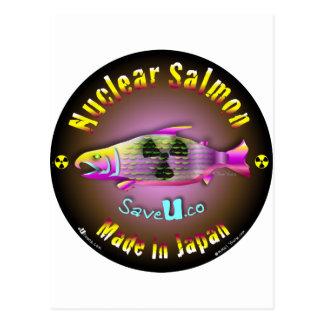 Nuclear Salmon Postcard