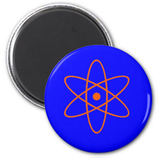 Nuclear Sign 6 Cm Round Magnet