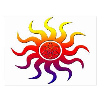 Nuclear Sun Postcard