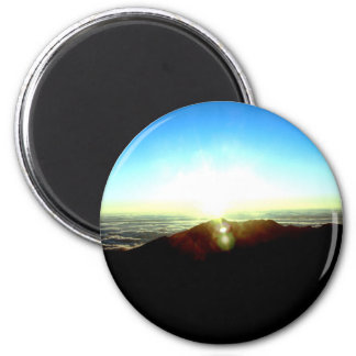 Nuclear Sunrise 6 Cm Round Magnet