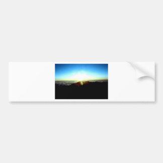 Nuclear Sunrise Bumper Sticker