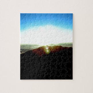 Nuclear Sunrise Jigsaw Puzzle