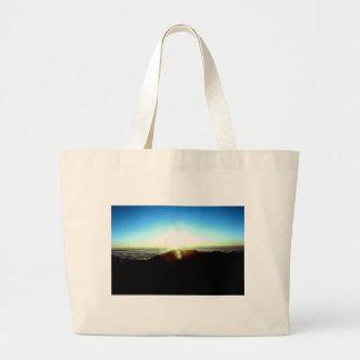 Nuclear Sunrise Large Tote Bag
