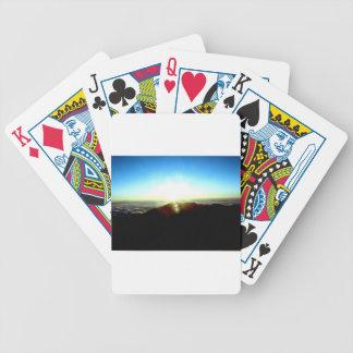 Nuclear Sunrise Poker Deck