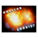 Nuclear Sunrise Poster