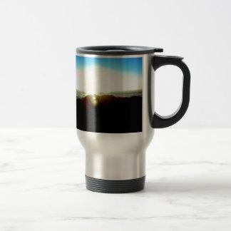 Nuclear Sunrise Travel Mug