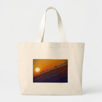 Nuclear Sunset Canvas Bags