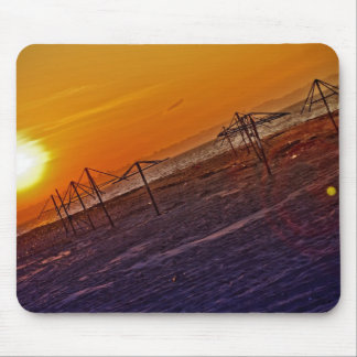 Nuclear Sunset Mouse Pad