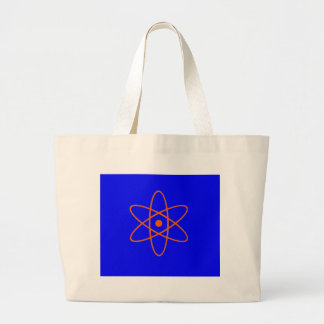 Nuclear Symbol Tote Bags