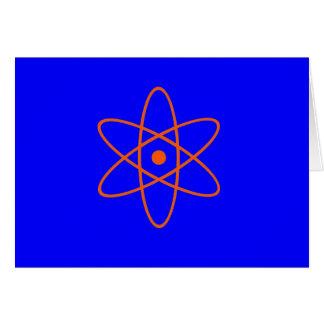 Nuclear Symbol Greeting Card
