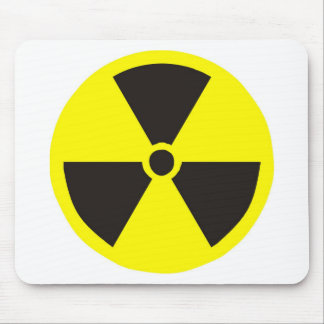 Nuclear Symbol Mouse Pads