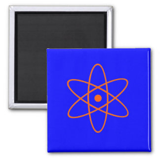 Nuclear Symbol Square Magnet