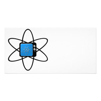 Nuclear Television Photo Card