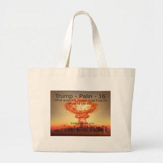 Nuclear Triad Jumbo Tote Bag