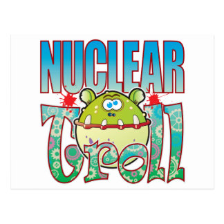 Nuclear Troll Postcard
